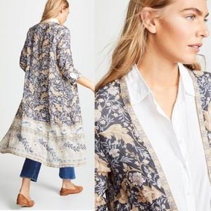 Maxi Duster KIMONO Oasis Nightshade Robe Floral